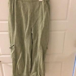 Flax pants